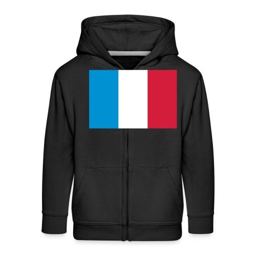 France - Kinderen Premium jas met capuchon