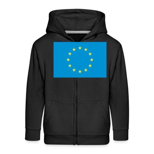 EU / European Union - Kinderen Premium jas met capuchon