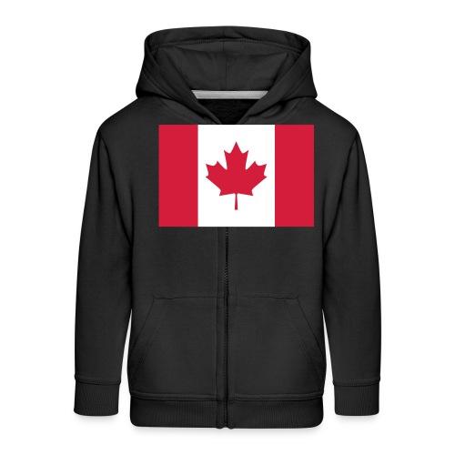 Canada - Kinderen Premium jas met capuchon