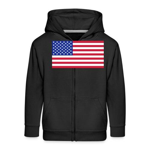 USA / United States - Kinderen Premium jas met capuchon