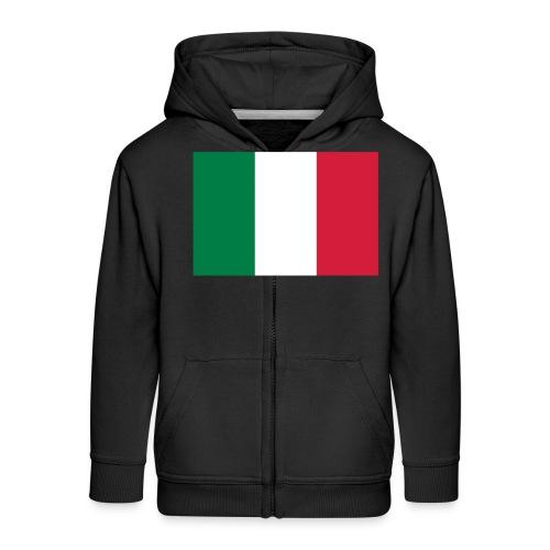 Italy - Kinderen Premium jas met capuchon