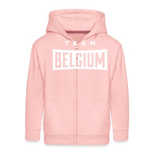 Team Belgium - Belgique - Belgie - Veste à capuche Premium Enfant
