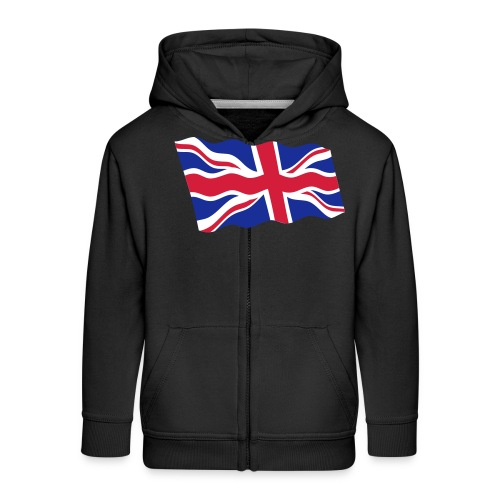UK / United Kingdom - Kinderen Premium jas met capuchon