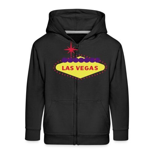 create your own LAS VEGAS products - Kids' Premium Zip Hoodie