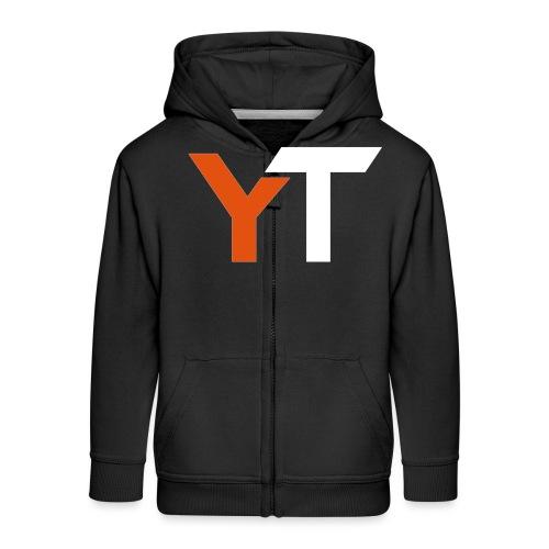 Yogii Tube - Kids' Premium Zip Hoodie
