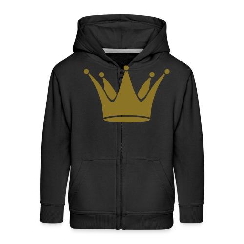 crown - Kinderen Premium jas met capuchon
