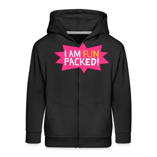 Fun packed - Kids' Premium Zip Hoodie