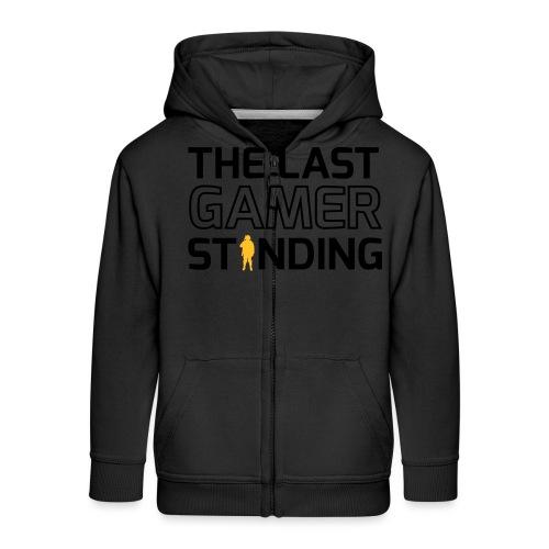 The Last Gamer Standing 2 - Kids' Premium Zip Hoodie