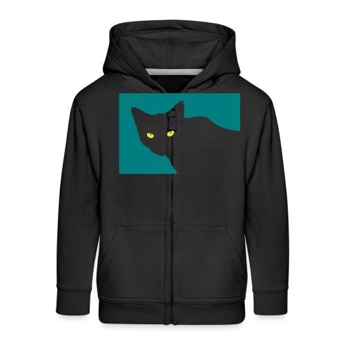 Spy Cat - Kids' Premium Zip Hoodie