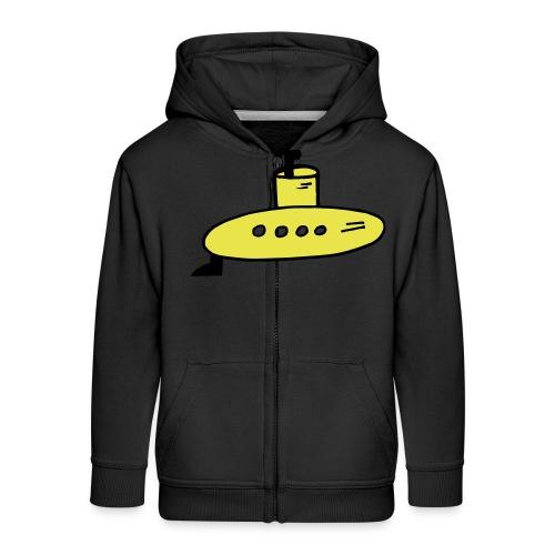 Submarine - Kids' Premium Zip Hoodie