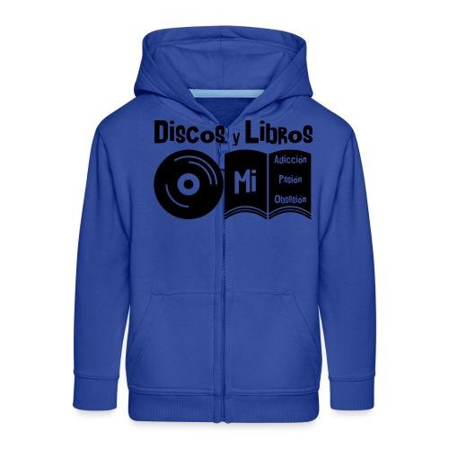 Discos y Libros - Chaqueta con capucha premium niño