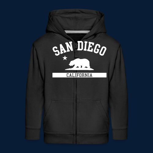 San Diego - Kinder Premium Kapuzenjacke
