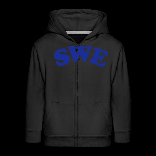 T-shirt, SWE - Premium-Luvjacka barn