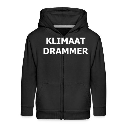 Klimaat Drammer - Kids' Premium Zip Hoodie