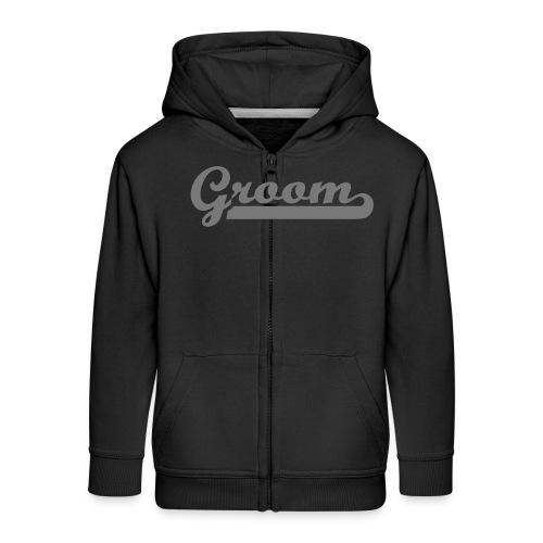 Groom - Kids' Premium Zip Hoodie