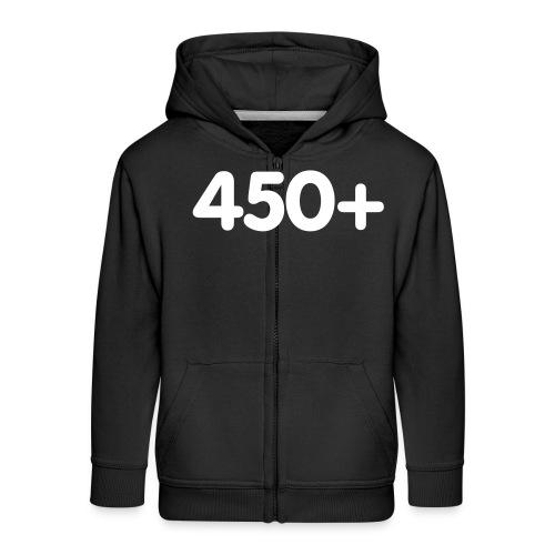 450 - Kinderen Premium jas met capuchon