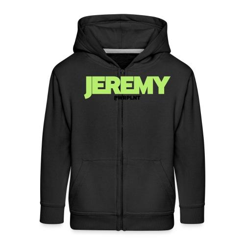 PWRPLNT_NAMES_JEREMY_01 - Kids' Premium Zip Hoodie