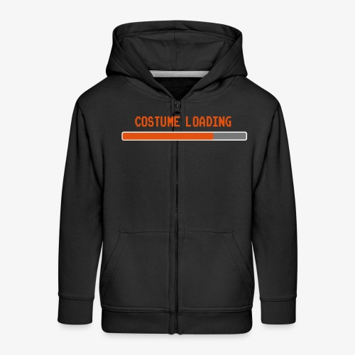 Costume Loading Halloween Costume patjila - Kids' Premium Zip Hoodie