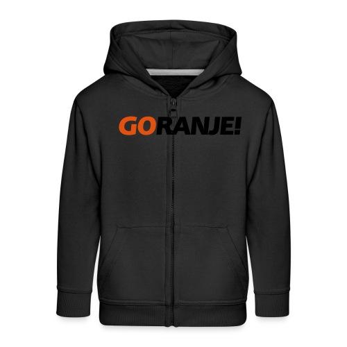Go Ranje - Goranje - 2 kleuren - Kinderen Premium jas met capuchon