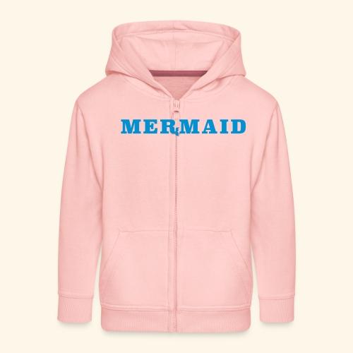 Mermaid logo - Premium-Luvjacka barn