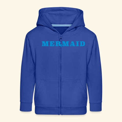 Mermaid logo - Premium-Luvjacka barn