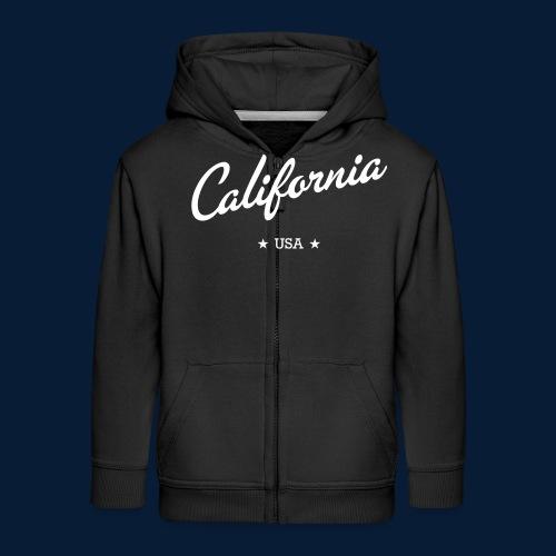 California - Kinder Premium Kapuzenjacke