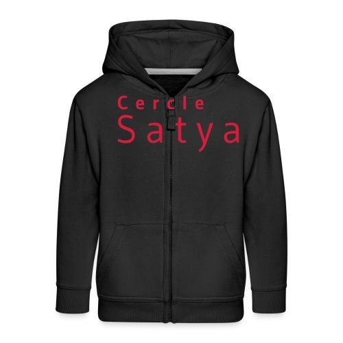 Cercle Satya - Veste à capuche Premium Enfant