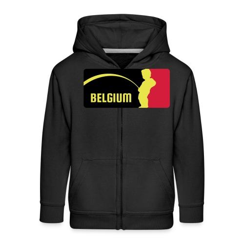 Mannekke Pis, Belgium Rode duivels - Belgium - Bel - Veste à capuche Premium Enfant