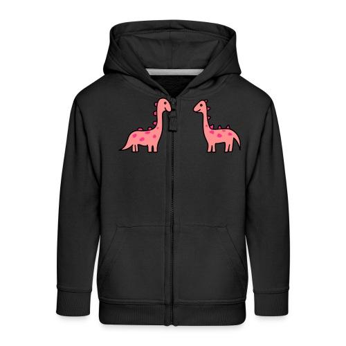 Mochila de Dinosaurios - Chaqueta con capucha premium niño