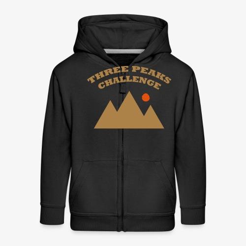 Three Peaks Challenge - Kids' Premium Zip Hoodie