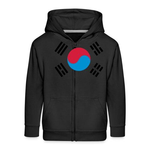 South Korea - Kinderen Premium jas met capuchon