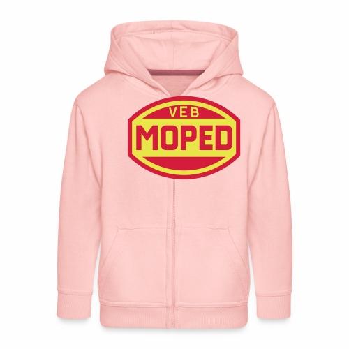 Moped VEB Logo (2c) - Kids' Premium Zip Hoodie