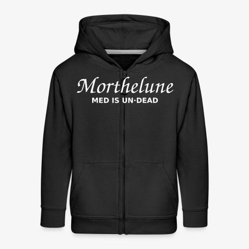 Morthelune - Med is undead - blanc - Veste à capuche Premium Enfant