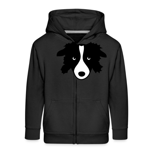 Border Collie - Kinder Premium Kapuzenjacke