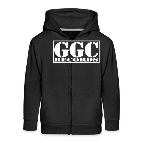 GGC-Records Label-Stempel - Kinder Premium Kapuzenjacke
