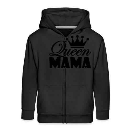 queenmama - Kinder Premium Kapuzenjacke