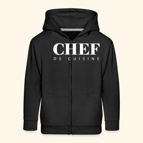 BOSS de cuisine - logotype - Kids' Premium Zip Hoodie