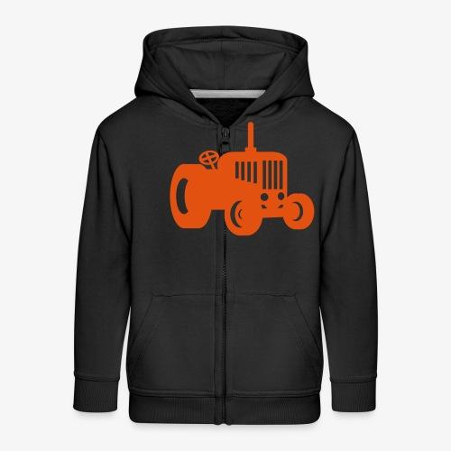 tractor oldschool - Kinderen Premium jas met capuchon