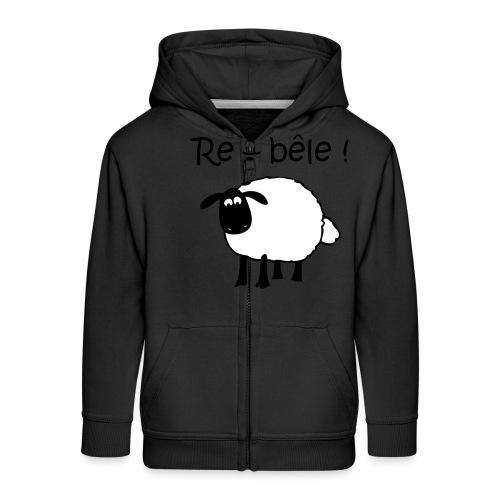 mouton-re-bele - Veste à capuche Premium Enfant