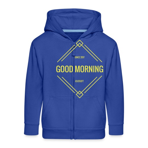 GOOD MORNING - Kinder Premium Kapuzenjacke