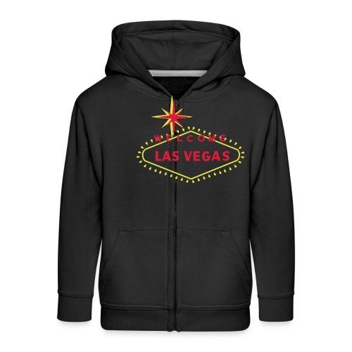 las vegas - Kids' Premium Zip Hoodie