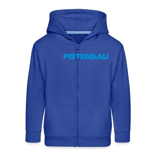 Ski Shirt Pistensau - Kinder Premium Kapuzenjacke