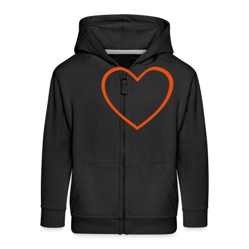 Hjärta 4 - Premium-Luvjacka barn