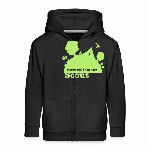 Naturellement Scout - Veste à capuche Premium Enfant