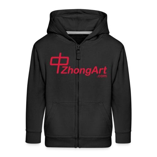 zhongart.com - Veste à capuche Premium Enfant