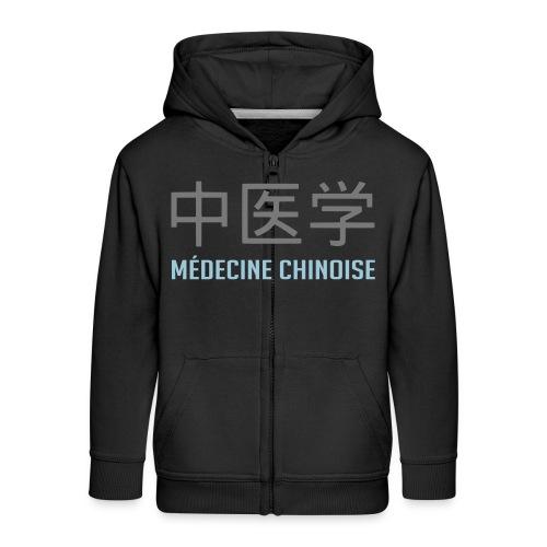 Médecine Chinoise - Veste à capuche Premium Enfant