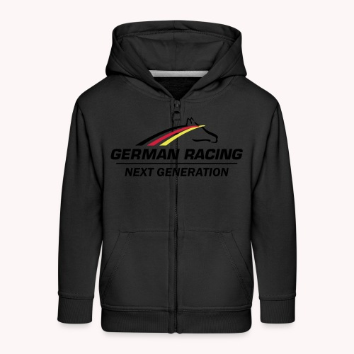 German Racing Next Generation Logo - Kinder Premium Kapuzenjacke