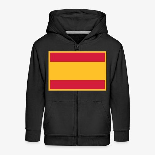 Banderola española - Chaqueta con capucha premium niño
