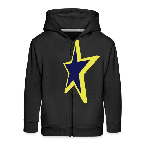 Star - Kids' Premium Zip Hoodie