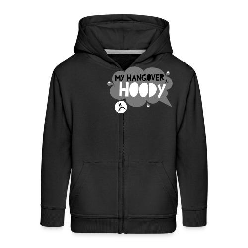 silver - Kids' Premium Zip Hoodie